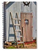 Fisherman's Shed In Prince Edward Island Spiral Notebook