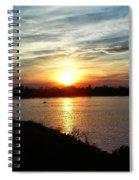 Fisherman's Sunset Horizon Spiral Notebook