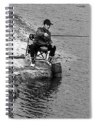 Fisherman's Tail Spiral Notebook