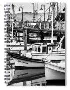 Fishermans Wharf Spiral Notebook