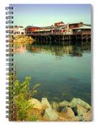 Fishermans Wharf Monterey Ca II Spiral Notebook