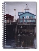 Fishermen Respite Spiral Notebook