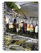 Fishermen's Supplies Spiral Notebook