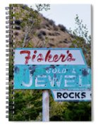 Fisher's Jewelry Spiral Notebook