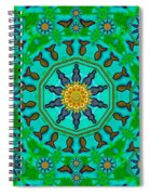 Fishes In Freedom Under The Sun Spiral Notebook