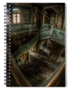 Fisheye From Above Spiral Notebook