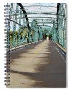Fisheye South Washington St. Bridge Spiral Notebook