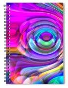 Fisheye3mlv Spiral Notebook