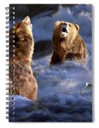 Fishing Alaska Spiral Notebook