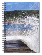 Fishing Beyond The Surf Spiral Notebook