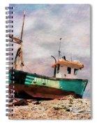 Fishing Boat At Aldeburgh Spiral Notebook