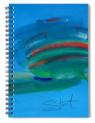 Fishing Boat Hastings Spiral Notebook