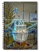 Fishing Boat Hdr 1 Spiral Notebook