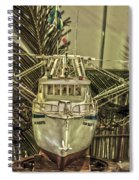 Fishing Boat Hdr 2 Spiral Notebook
