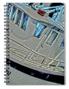Fishing Boat Hdr Spiral Notebook