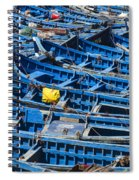 Fishing Boats In Morocco Spiral Notebook