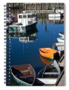 Fishing Boats, Rockport, Ma Spiral Notebook