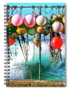 Fishing Buoys Spiral Notebook