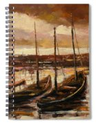 Fishing Cutters  Spiral Notebook