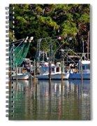 Fishing Fleet Spiral Notebook