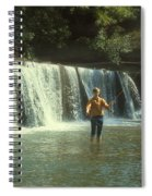 Fishing For Smallies Spiral Notebook