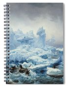 Fishing For Walrus In The Arctic Ocean Spiral Notebook