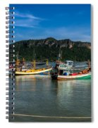 Fishing Harbour Spiral Notebook