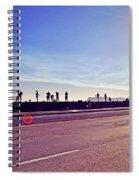 Fishing - Havana Cuba Spiral Notebook