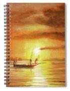 Fishing In Zanzibar Spiral Notebook