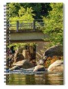 Fishing In Deer Creek Spiral Notebook