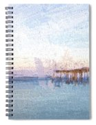 Fishing In Venice, Florida II Spiral Notebook