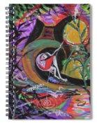 Fishing In Wonderland Spiral Notebook