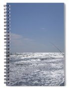 Surf Fishing Spiral Notebook