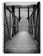 Fishing Lake Spiral Notebook