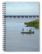 Fishing On The Flats Spiral Notebook