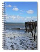Fishing Pier 1 Spiral Notebook