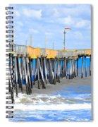 Fishing Pier 4 Spiral Notebook