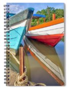 Fishing Pirogues  Spiral Notebook