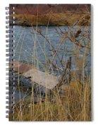 Fishing Platform  Spiral Notebook