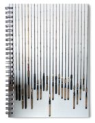 Fishing Poles Spiral Notebook