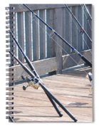 Fishing Rods Spiral Notebook