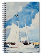 Fishing Schooner In Nassau Spiral Notebook