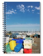 Fishing Things Spiral Notebook