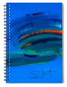 Fishing Trawler Hastings Stade Spiral Notebook