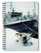 Fishing Trawler, Howth Harbour, Co Spiral Notebook