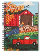 Fishing Under The  Covered Bridge Spiral Notebook