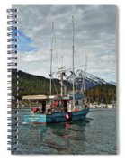 Fishing Vessel Chinak Spiral Notebook