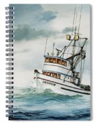 Fishing Vessel Devotion Spiral Notebook