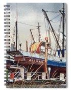 Fishing Vessel Ranger Drydock Spiral Notebook