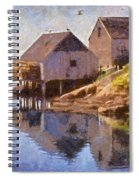 Fishing Wharf Spiral Notebook
